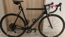 Cannondale CAAD12 complete bike after race at home-180716